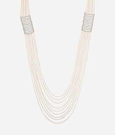 Luxe Fine Lines Statement Necklace