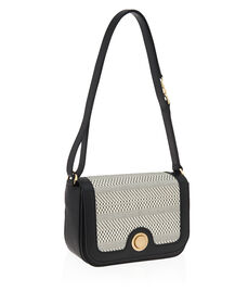 Weston Geo Straw Crossbody