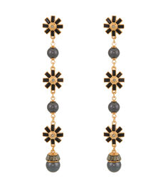 Cocktail Pearl Drop Earring