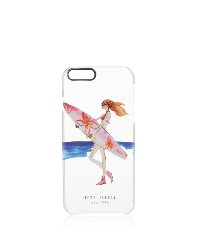 Surf Girl Clear Case for iPhone 6/6s