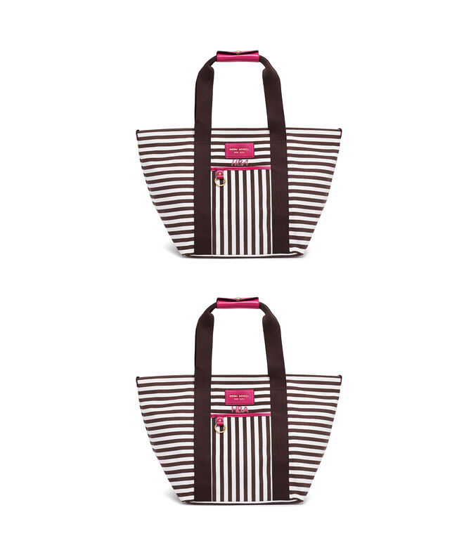 Signature Stripe Canvas Medium Tote