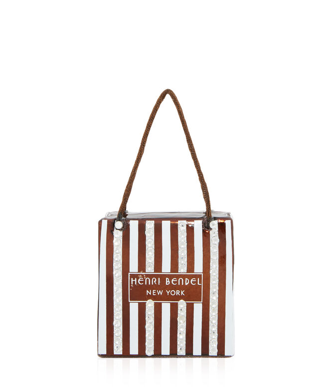 Henri Bendel Shopping Bag Ornament