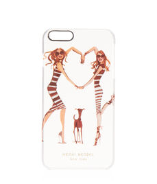 Heart Girls Clear Case for iPhone 6/6s Plus