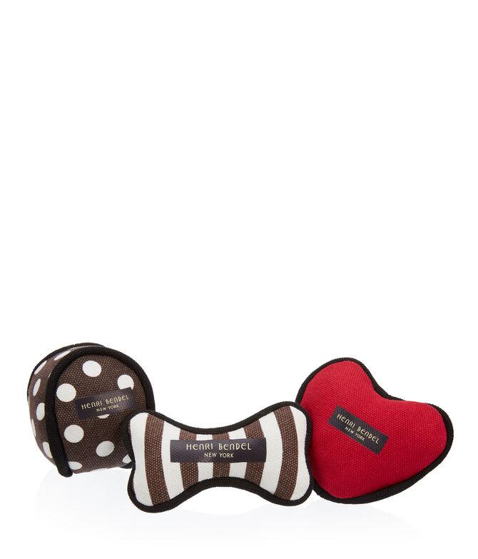 Henri Bendel Puppy Toy Set