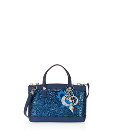 West 57th Mini Glitter Satchel