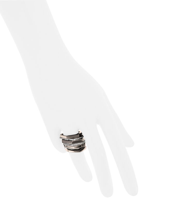 Luxe Tribal Fringe Stack Ring