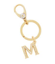 Monogram M Key Fob