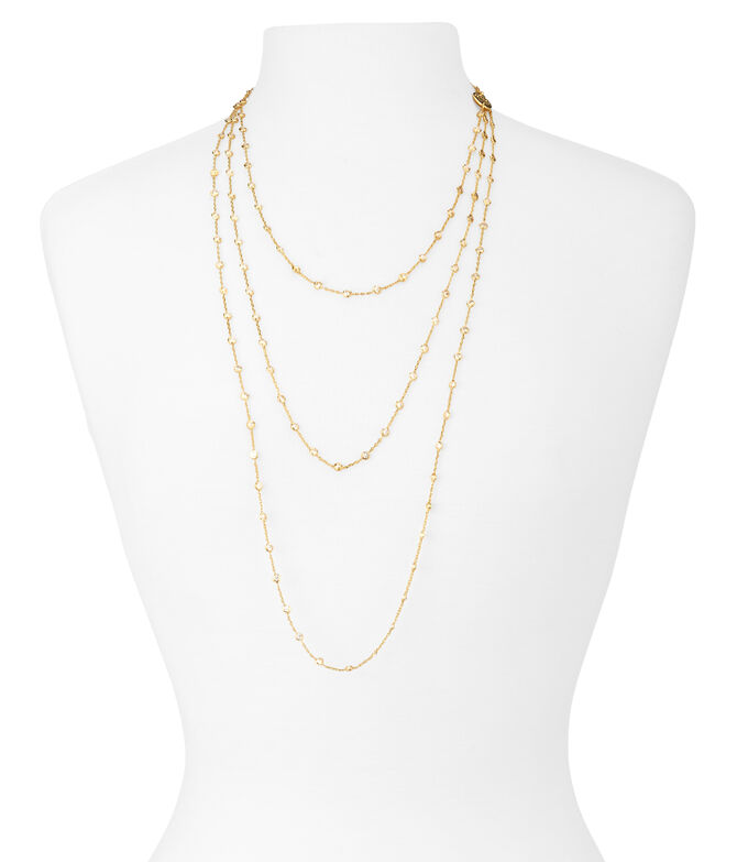 Luxe Uptown 3 Row Necklace