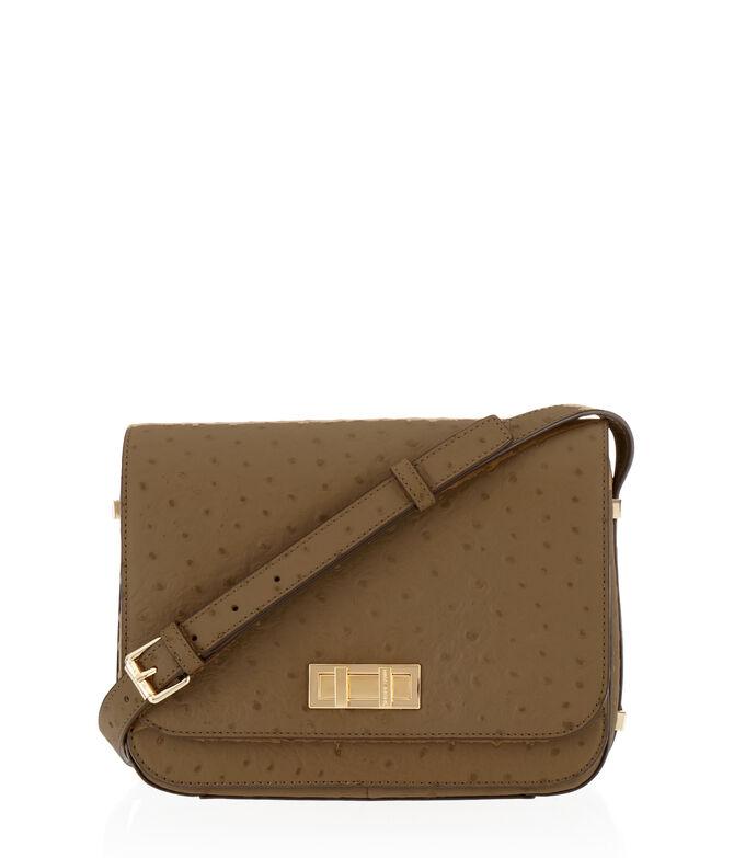 Dalton Ostrich Saddle Bag