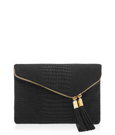 Debutante Croco Convertible Clutch