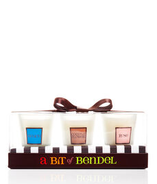 HENRI BENDEL SUMMER CANDLE TRIO