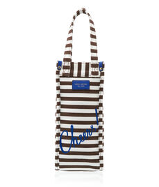 Cheers! Stripe Wine Bag Holder