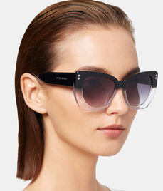 Amber Cat Eye Sunglasses