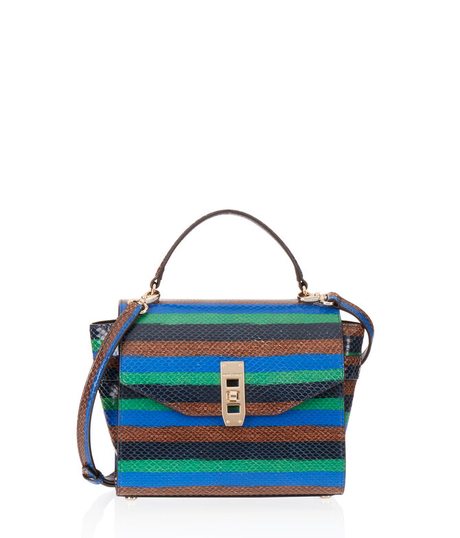 Uptown Mini Snake Satchel