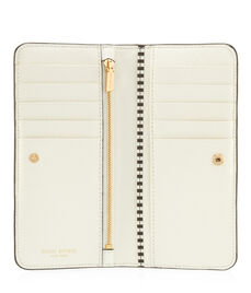 West 57th Studded Single Snap Wallet