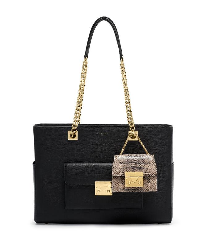 Waldorf Snake Embossed Bag Charm