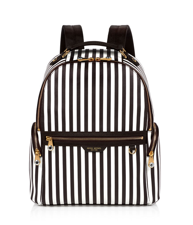 West 57th Centennial Stripe Travel Backpack