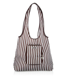 HENRI BENDEL STRIPED PACKABLE TOTE