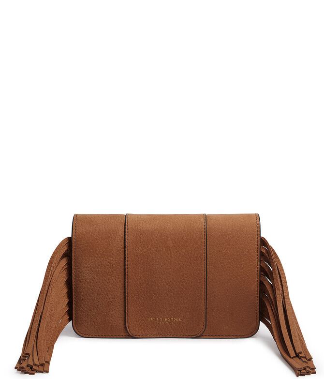Michelle Fringe Convertible Clutch