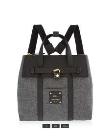 Jetsetter Mini Convertible Canvas Backpack