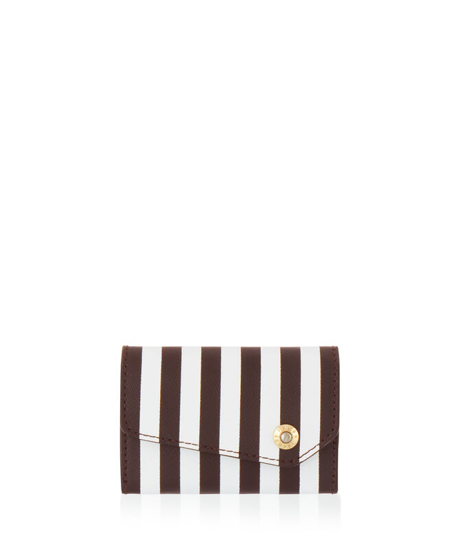 Centennial Stripe Business Card Case