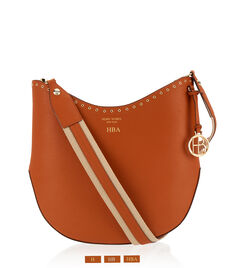 West 57th Grommet Crossbody Hobo