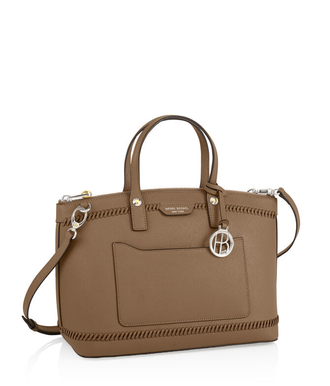 West 57th Whip Stitch Satchel