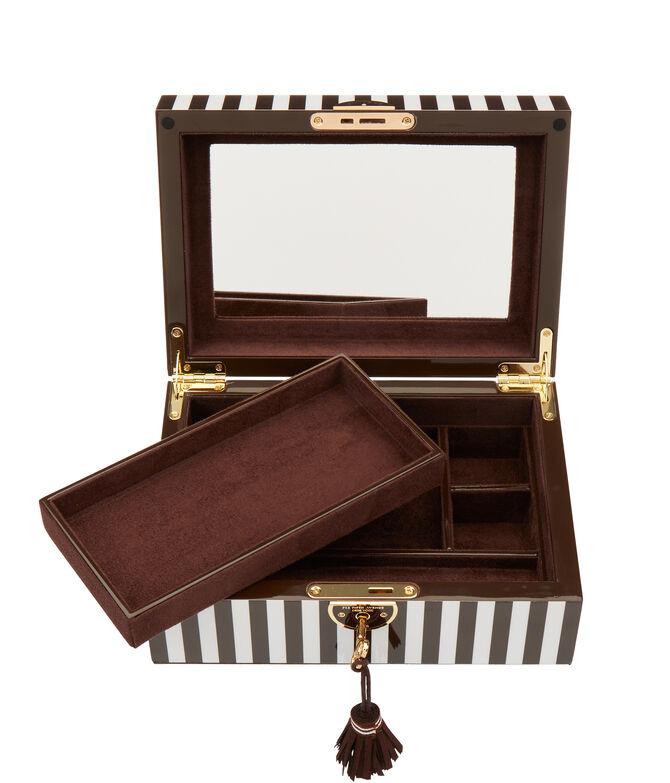 Henri Bendel Striped Medium Jewelry Box
