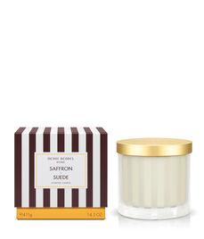 Saffron & Suede Scented Candle