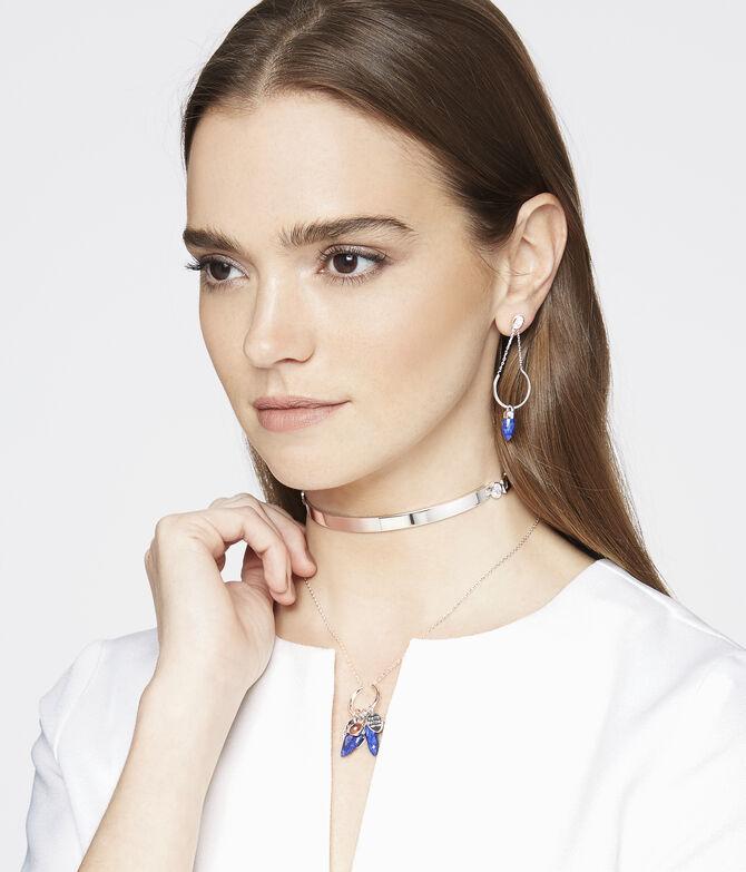 Luxe Bali Semi Precious Chandelier Earring