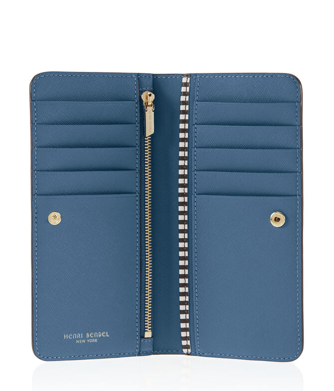 West 57th Single Snap Wallet