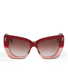Amber Cat Eye Sunglasses