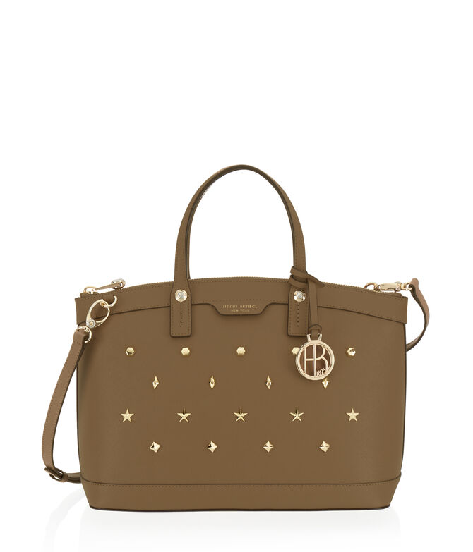 West 57th Studded Satchel