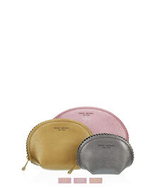 West 57th Metallic Cosmetic Bag Trio