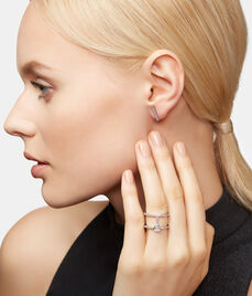 Luxe Asscher Cut Harness Ring