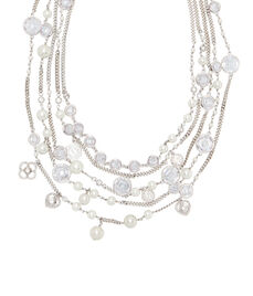 Socialite Layered Pearl Collar