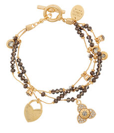 Henri Charmed Layered Bracelet