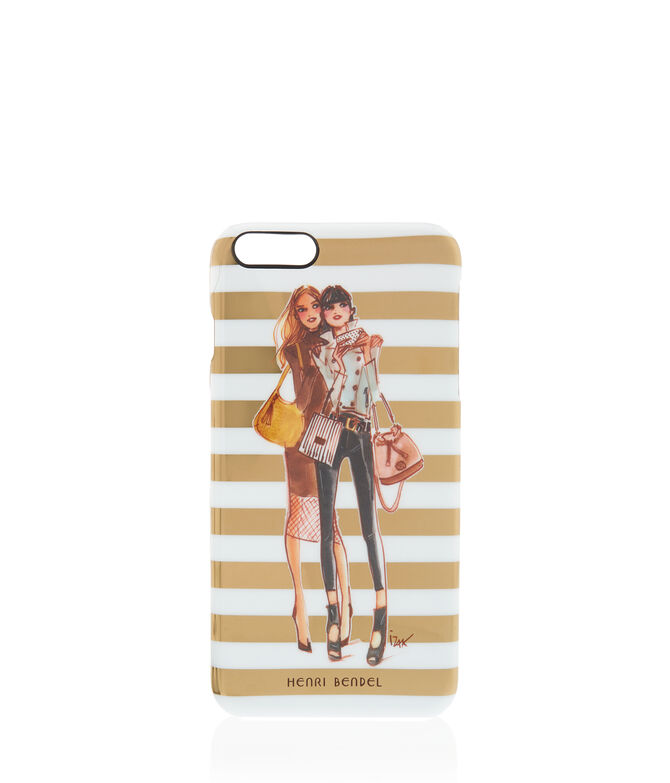 Girls on Gold Stripe Graphic Case for iPhone 6/6s