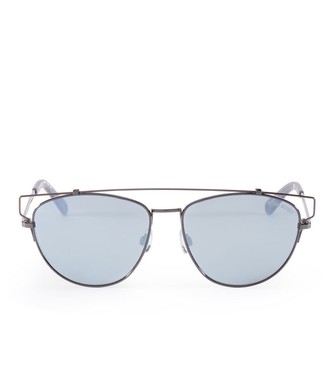 Dixie Square Mirrored Sunglasses