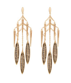 Romantic Deco Chandelier Earring