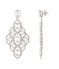 Classic Diamond Chandelier Earrings