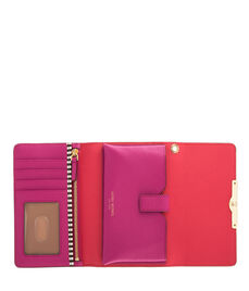 West 57th Blocked Phone Wristlet