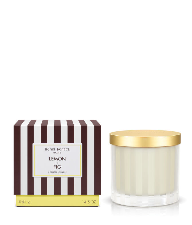 Lemon & Fig Scented Candle