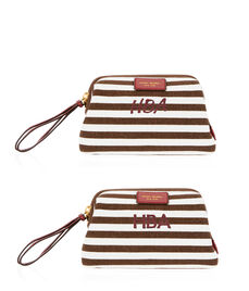 Signature Stripe Canvas Small Dopp Kit