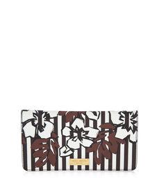 West 57th Hibiscus Stripe Travel Wallet