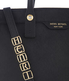 P Initial Bag Charm