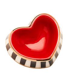 Heart Shaped Dog Bowl