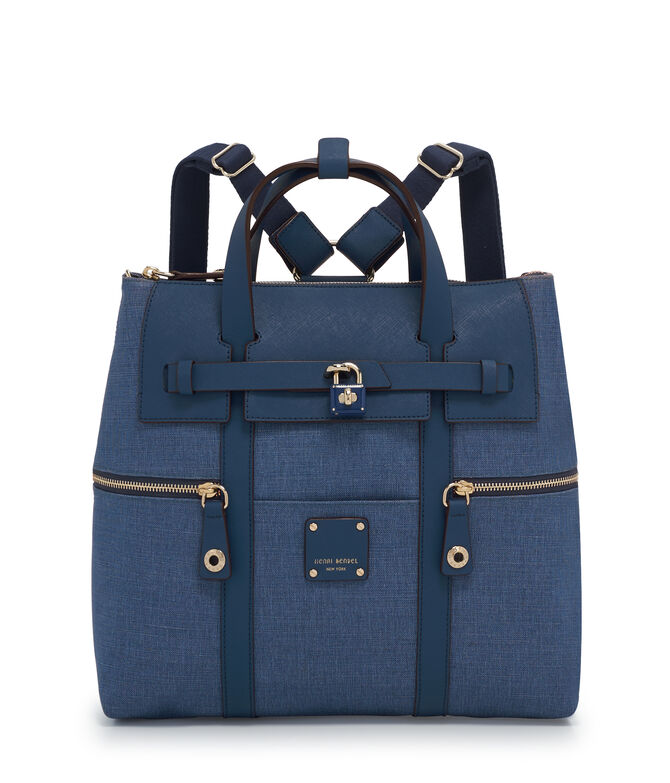 Jetsetter Convertible Denim Backpack