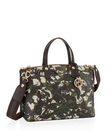 West 57th Floral Camouflage Satchel
