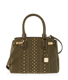 Carlyle Studded Satchel